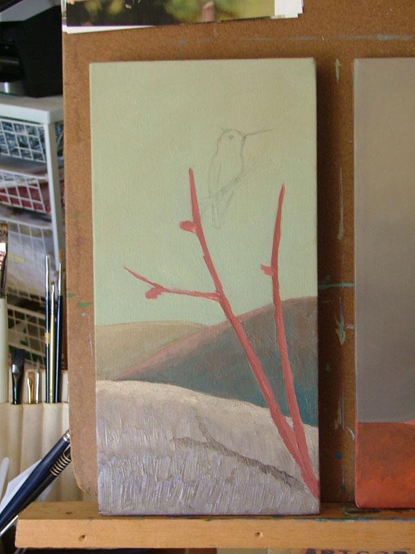 """Landscape-Hummingbird"""