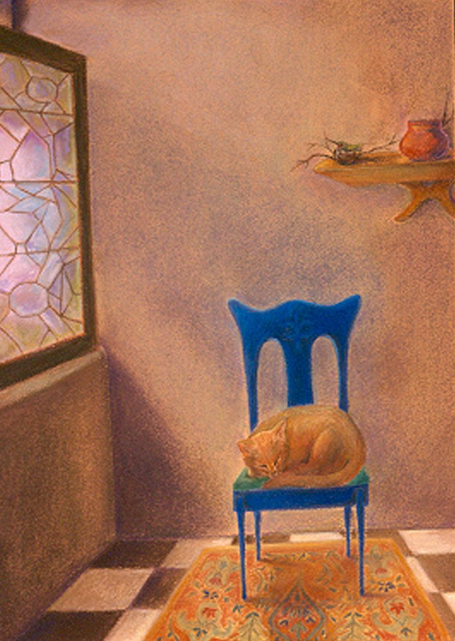 """""""Vemeer Cat"""""""