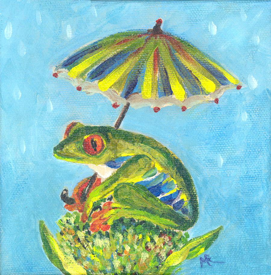 """""""Umbrella Frog"""""""